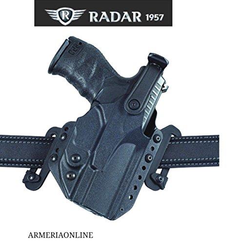 Radar Fondina Beretta 98 per pistola arma estrazione rapida in polimero cintura