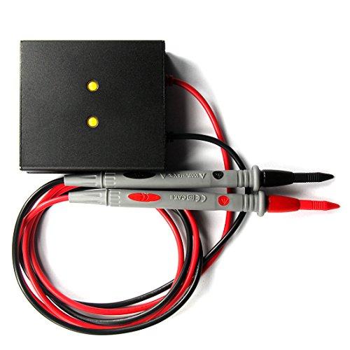 ANRIS Zündkerze Batterie Kondensator Entladungsstift + LED-Licht Entlastungsschutz Elektriker-Entladungswerkzeug Für elektronisch