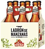 Ladrón de Manzanas Red Berries Cider -Packs de 6 Botellas x 250 ml - Total: 1.5 L