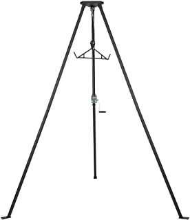 Rage Powersports Kill Shot DRC-DTP Tripod Game Hoist with Gambrel – 500 lb. Capacity