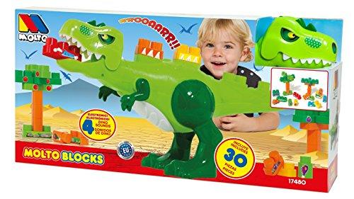 MOLTO Blocks - Dinosaurio con Sonidos 17480