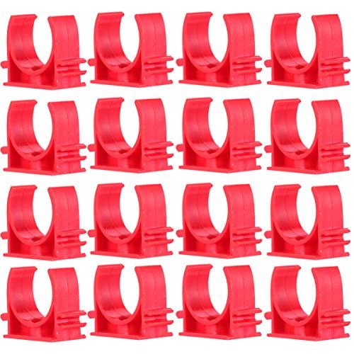 Cabilock 200 Piezas Abrazaderas de Tubería de Agua Clips Bandejas de Tv Tubo Soporte de Suspensión de Manguera Tubo Pex 16