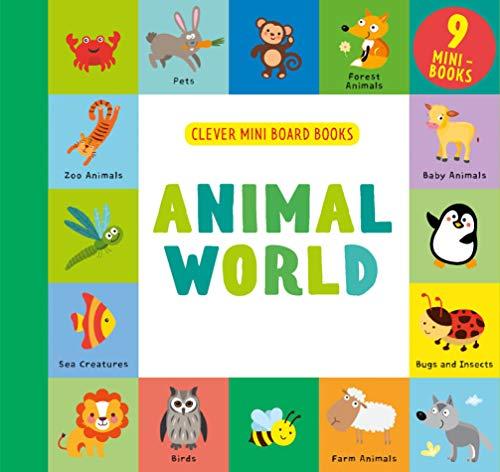 Animal World (Clever Mini Board Books)