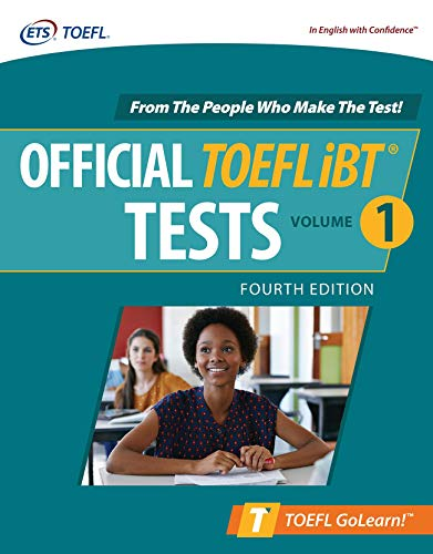 Official TOEFL iBT Tests Volume 1 (Toefl Golearn!)
