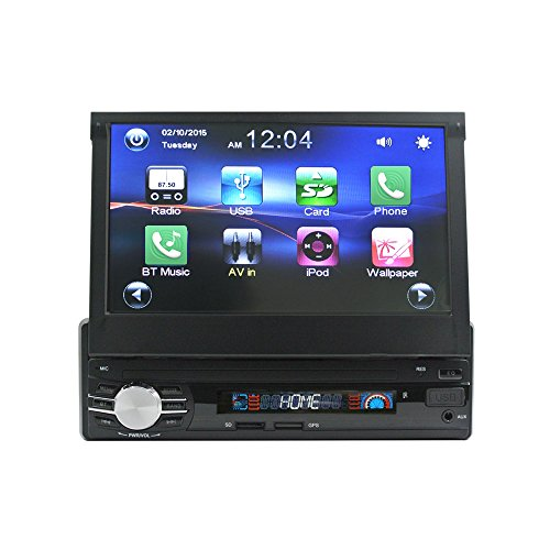 Lexxson 7Inches Single Din Touchscreen Wireless MP3/MP4/USB/SD AM/FM...