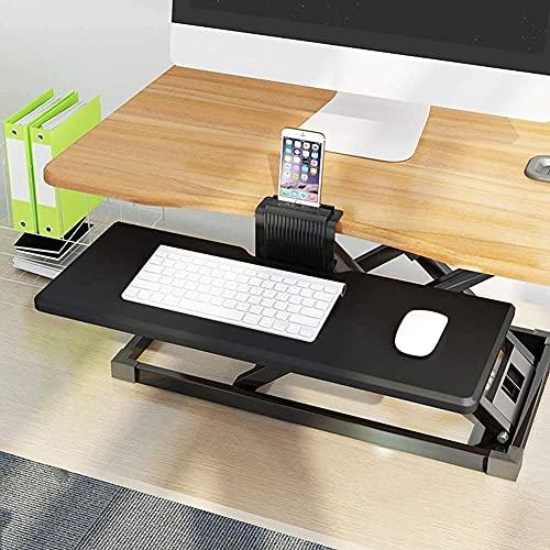 N&O Renovation House Armlehne Handgelenkstütze Tastatur Armlehne für Tastatur Computer Armlehne Pad Einstellbare Arm Handgelenkstütze Unterstützung Schreibtisch Extender für Zuhause und Büro