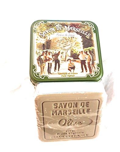 Parfum de Grasse - Savon de Marseille senteur Olive - au beurre de Karité et huile d'Olive