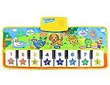 XJL Tanzdecke Tanzen Mat Musik Mat Kinder Klavier-Spieldecke Touch Play-Tastatur-Musik Singen Gym Teppich Mat Best Kids Baby-Geschenk