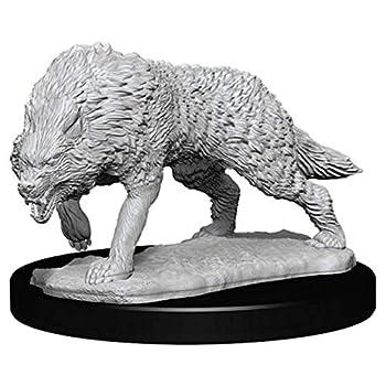NECA WizKids Deep Cuts Unpainted Miniatures  Wave 7  Timber Wolves