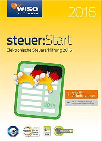 Preisvergleich Produktbild WISO steuer:Start 2016 (für Steuerjahr 2015)