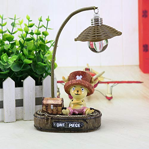 Nachtlampje Luffy en Joe Japans Anime speelgoed Hars Ambachten Lamp Nachtlampje Multicolor Joe