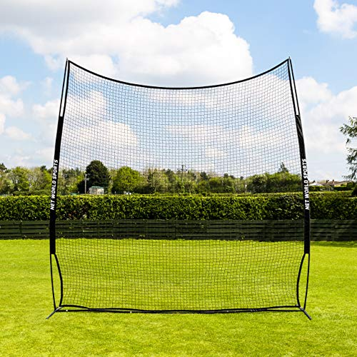 FORZA Pop-Up Stop That Ball - 10ft High Surround Netting - 11ft & 20ft Ball Stop Systems | Carry Bag & Ground Pegs Included | Optional 4.5ft Extender Kit (50ft Wide)
