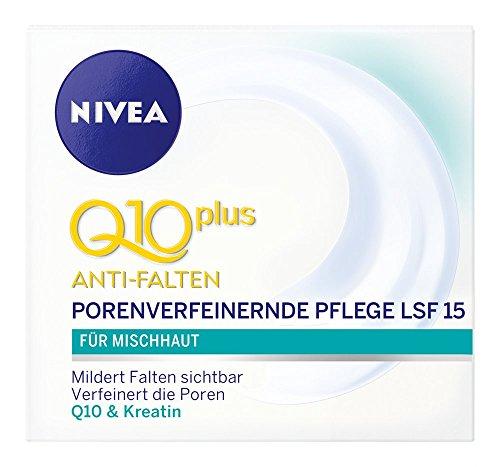 Nivea Visage Q10 Anti-Falten Porenverfeinernde Pflege, 50ml