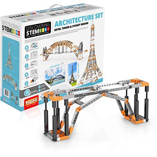 Engino Architektur-Set - Eiffelturm und Sydney Bridge Bauset