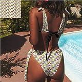 igoga sports Bikini Swimwear Fashion Elegant Swimsuit Bikini French Breakfast with Mocha