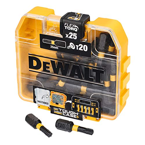 DeWalt DT70528-QZ Extreme Impact Torsion Schrauberbit Set 25-teilig, in TicTac-Box T20 x 25 mm