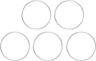 VOSAREA 10 st metall drömfångare ringar ringar ringar runda metallringar makramé ringar för drömfångare gör-det-själv hant...