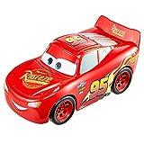Cars Rayo McQueen Track Talkers Coche de juguete con sonidos, juguete para niños +3 años (Mattel GTK86)