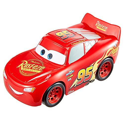 Cars Rayo McQueen Track Talkers Coche de juguete con sonidos, juguete para niños +3 años (Mattel...