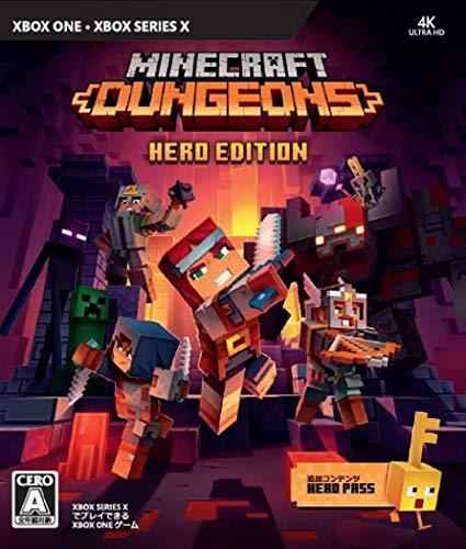 マインクラフトダンジョンズヒーローエディション-XboxOne(【同梱物】「ヒーローパス」ダウンロードコード同梱)