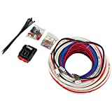 DS18 Hydro MOFCKIT4 4 Gauge Marine Tinned Amplifier Installation Wiring Kit – Up to 1800 Watts, OFC 100% Cooper