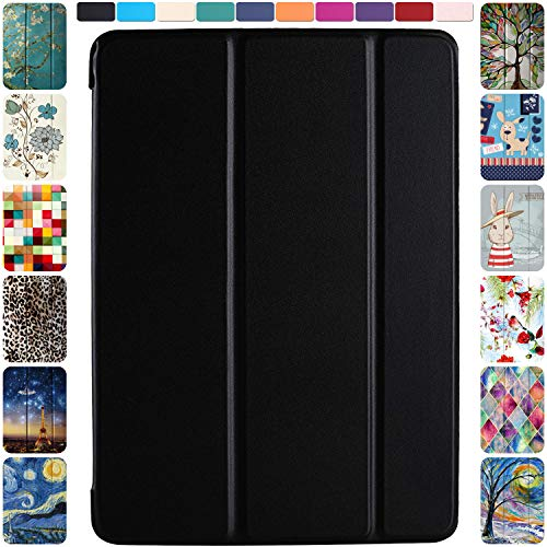 DuraSafe Cases for iPad 2nd Gen / 3rd Gen / 4th Gen - 9.7 Inch MD510LL/A MD513LL/A MD514LL/A MC705LL/A MD328LL/A MD333LL/A Ultra Slim Cover with Auto Sleep/Wake Function - Black
