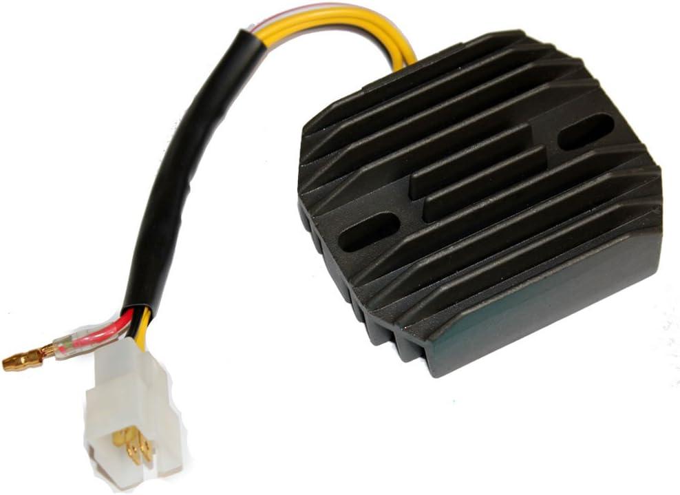 Caltric Regulator Max 46% OFF Rectifier Compatible With Honda Max 75% OFF Atc 250 Atc250