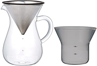 Kinto Coffee Dripper Brewer Set for 4cups SCS-04-CC 600ml 27621