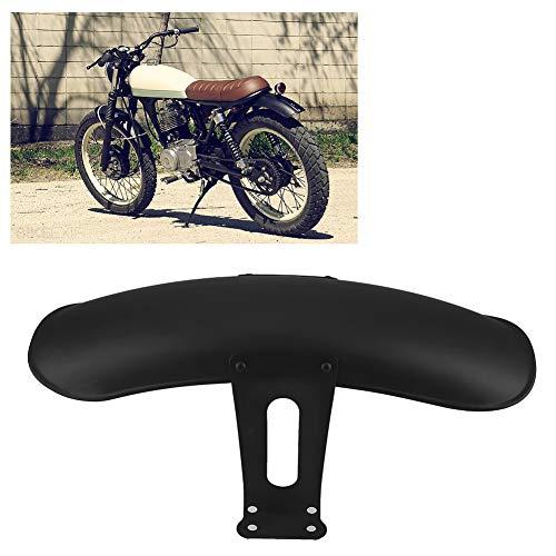 Yyqtgg Protector de Barro, Forros Negros Husky de Repuesto Motocicleta Honda sin Necesidad de Cortar con aleación de Aluminio para Gn125