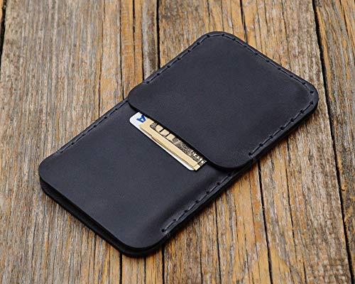 Leder Etui für Samsung Galaxy Note9 Hülle Graues Tasche Cover Case Handyschale Gehäuse Ledertasche Lederetui Lederhülle Handytasche Handysocke Handyhülle Schale Socke Note 9