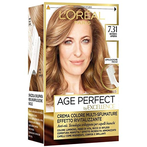 Haarfärbemittel Excellence Age Perfect 7,31 blond Bernstein