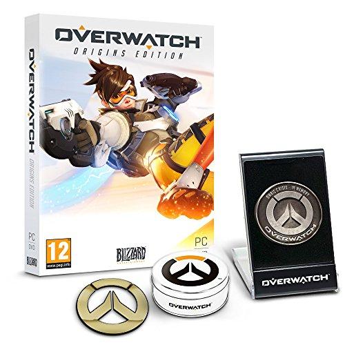 Overwatch Origins Edition - 'Memory of War' Metal Coin & Metal Badge Bundle (Exclusive to Amazon.co.uk) (PC DVD)