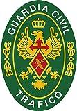 Artimagen Pegatina Oval Logotipo Guardia Civil Tráfico 45x6