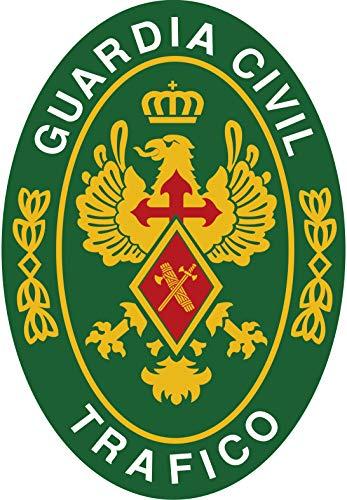 Artimagen Pegatina Oval Logotipo Guardia Civil Tráfico 45x65 mm.
