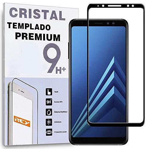REY Protector de Pantalla Curvo para Samsung Galaxy A8 2018 - A5...