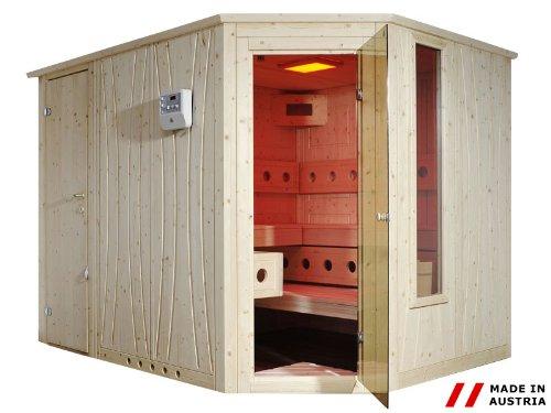 Gaspo Sauna Excellence 140x200 cm mit Eckeinstieg