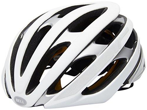 Bell Unisex– Erwachsene Stratus MIPS Reflective Fahrradhelm, mat White/Silver, M