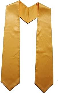 Grad Days Unisex Children Plain Graduation Stole 50'' Long