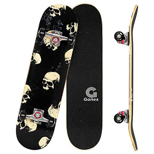 Gonex Skateboard para Principiantes, 31'' x 8''...