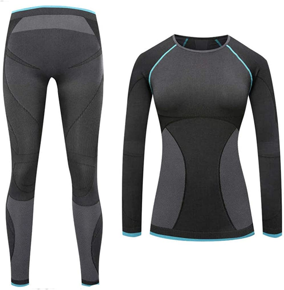 Year-end gift Women Thermal Underwear Set Long-awaited Tight Layer Base Long Top Bottom