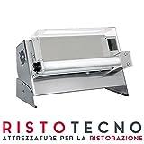 Stendipizza PROFESSIONALE stendi pizza monorulli in inox meccanico per pizza diametro Ø 30 cm.