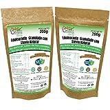 STEVIA Envase Ecologico Natural Edulcorante granulado Dulcilight -stevia Pack 2 doypack 400 gr= 4kg. 1:10 Producto SABOR Y CALIDAD PREMIUM