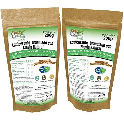 STEVIA Envase Ecologico Natural Edulcorante granulado Dulcilight -stevia...