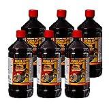 Best Sporting - Accendifuoco liquido per barbecue a carbonella e bricchette, 1 litro (6 bo...