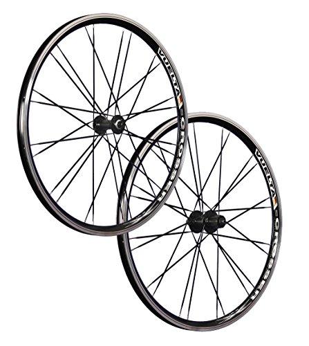Vuelta 26 Pollici Set Ruote Bici Crosser x II HB/FH-RM40 Nero 24 Fori