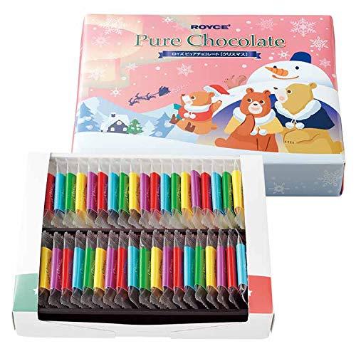 【ROYCE'】ロイズ ピュアチョコレート クリスマスパッケージ 期間限定
