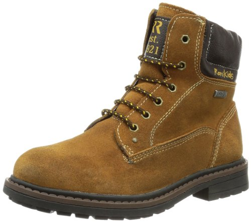 ROMIKA Finba, Chaussures Bateau garçon - Beige - Beige (Tan 637), 25 EU