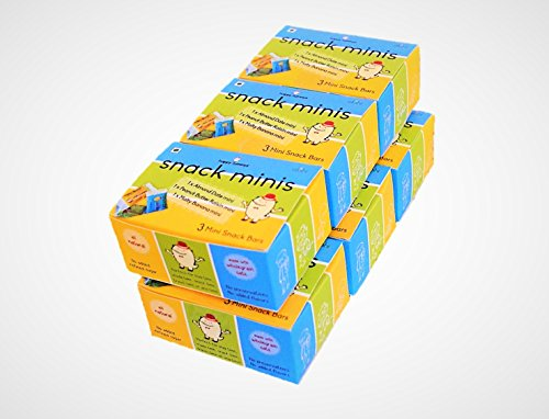 Happy Tummys All Natural Snacker Minis Travel Pack - 6 mini packs (pack of 18 minis)