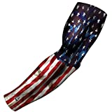 B-Driven Sports Athletic Sport Compression Arm Sleeve USA, Mexico, Puerto Rico & More | 1 Sleeve