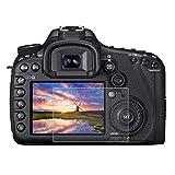 BYbrutek Protector de Pantalla de Vidrio Templado para Canon 5D Mark III, 0,3 mm, Ultratransparente, Lámina de protección LCD con Dureza 9H, Antiarañazos, sin Burbujas, Antihuellas (5D Mark III)